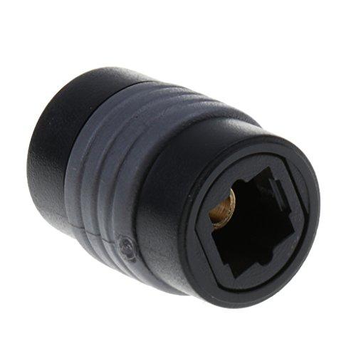 perfk Weiblich zu weiblich optische Toslink Digital Audio Kabel Extender Koppler Adapter - Digital-audio-koppler