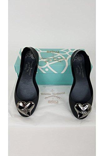 Vivienne Westwood + Melissa Queen 17 Femme Chaussures Noir Noir