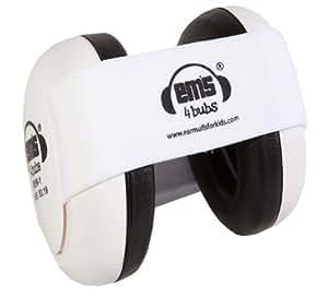 Earmuffs for Babies (White Headband)