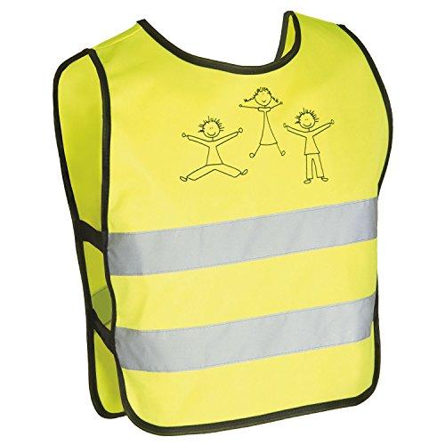 Produktbild M-Wave Reflex-Warnweste für Kinder, gemäß EN 1150, 100% Polyester, Größe XXS-XS