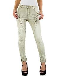 iTaL-dESiGn - Jeans - Boyfriend - Femme