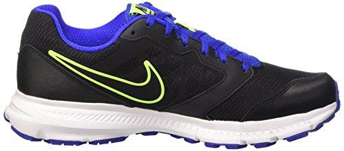 Nike Downshifter 6, Chaussures de Running homme Schwarz (Black/Black-Racer Blue-Volt 025)