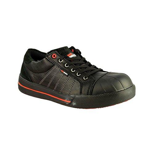 Redbrick S3 Sicherheitsschuhe Ruby Sneaker 44 Schwarz (Spitzen-kappe Sportliche)