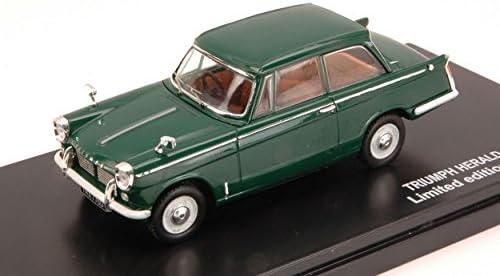Triumph Herald, vert foncé, RHD, 1959, voiture miniature, Miniature déjà montée, Triple 9 Collection 1:43 | Stocker
