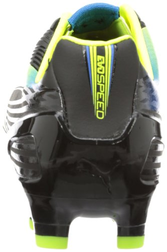 Puma evoSPEED 2.2 FG, Scarpe da calcio uomo nero (Schwarz (black-fluo yellow-brilliant blue 01))