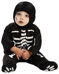 ¡Disfraza al más peque como a una divertido Esqueleto! Este divertido disfraz le hará sentirse como una esqueleto de verdad y sobre todo se divertirá tanto el como la familia. Incluye: mono y gorro. - Accesorios no incluidos - Edad recomendad...