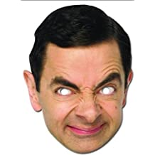 Mr Bean Celebrity Cardboard Mask - Single (máscara/ careta)