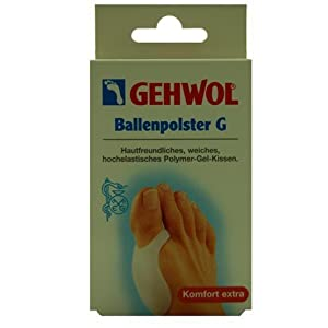 Gehwol 1026900 Ballenpolster Polymer-Gel-Kissen, 1er