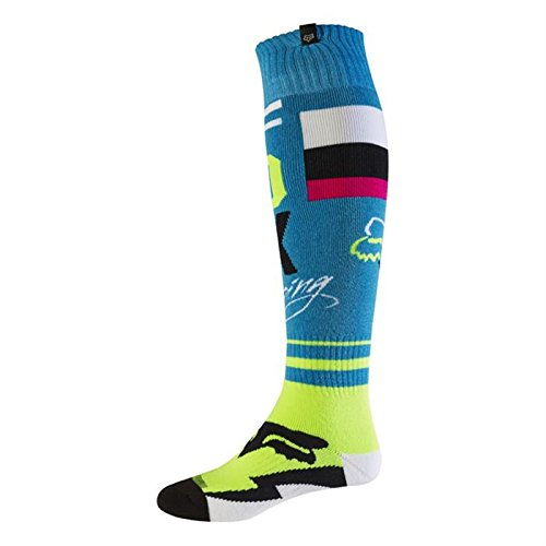 Fox 2017 Herren Motocross / MTB Socken - FRI ROHR THIN - teal: Größe Socken: S (Fox Thin Fri)