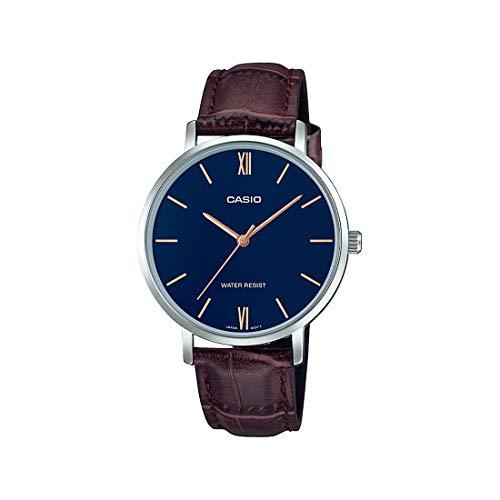 Casio Analog Blue Dial Women's Watch-LTP-VT01L-2BUDF (A1629)