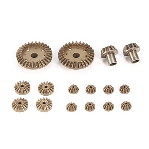 12T 24T 30T Metal Front Rear Differential Gear/Motor Driving Gear Upgrade Repair Parts for WLtoys 12428 12423 1/12 RC Car -