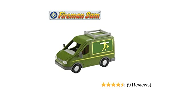 Character Options Fireman Sam Vehicle /& Accesory Mikes Van 04040