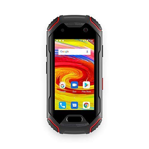 Unihertz Atom, Il più Piccolo Smartphone 4G Rude nel Mondo, Android 8.1 Oreo Smart Phone Sbloccato con 4GB di RAM e 64GB di Rom