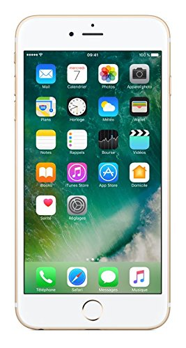 "Apple iPhone 6s Plus Single SIM 4G 32GB Gold - Smartphones (14 cm (5.5""), 32 GB, 12 MP, iOS, 10, Gold)"