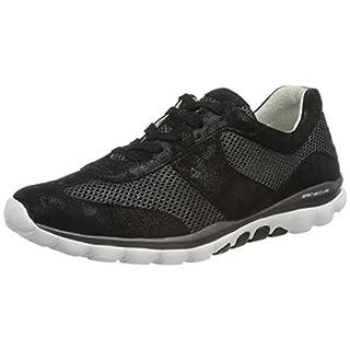 Gabor Shoes Damen Rollingsoft Sneaker, (Schwarz 97), 37 EU