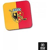 """ESV Kaufbeuren Hochglanz-Untersetzer """"Logo"""""""