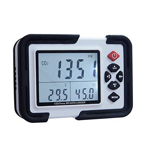 QYY Detector De Monitor De CO2 Digital 3 En 1