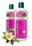 ZWEI FÜR EINS - AUBREY Rosa Mosqueta Shampoo & Conditioner Spülung Kur 100% natürlich ohne Silikone coloriertes Haar