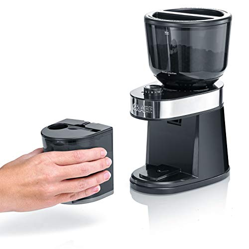 Graef CM202EU Kaffeemühle, Kunststoff, Schwarz