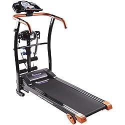 Cinta de correr Runner Fitness Massage Extreme. Incluye Cinturón de masaje. 3 niveles de inclinación y Sistema de Amortiguación