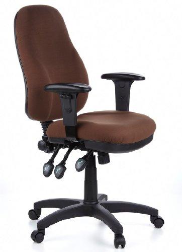 Sedie Da Ufficio Marrone.Hjh Office Zenit Pro Sedia Da Ufficio Girevole Tessuto 100
