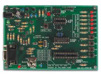 PIC-PROGRAMMER UND EXPER.-KASTEN - BS (Pic Programmer Kit)