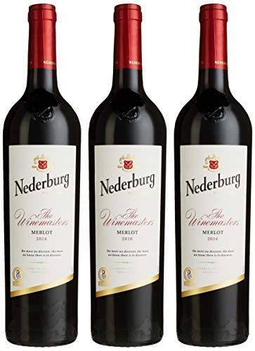Nederburg The Winemasters Merlot Selection 2014 Trocken (3 x 0.75 l)