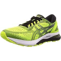 Asics Gel-Nimbus 21, Zapatillas de Running para Hombre, Amarillo (Safety Yellow/Black 750), 42 EU