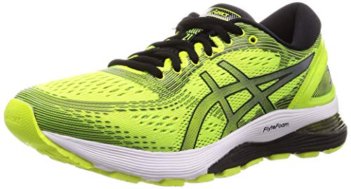 ASICS Herren Gel-Nimbus 21 Laufschuhe, Gelb (Safety Yellow/Black 750), 49 EU - Shoes Running Asics Winter