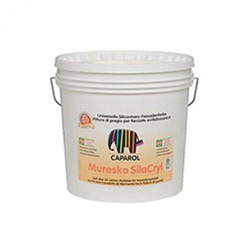 Caparol muresko silacryl pittura acril-silossanica a caratt. minerale lt. 12,5