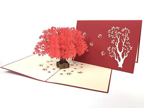 Grußkarte Anniversary Baby Happy Geburtstag Ostern Mutter Thank You Valentine 's Day Hochzeit Kirigami Papier Craft Postkarten ()