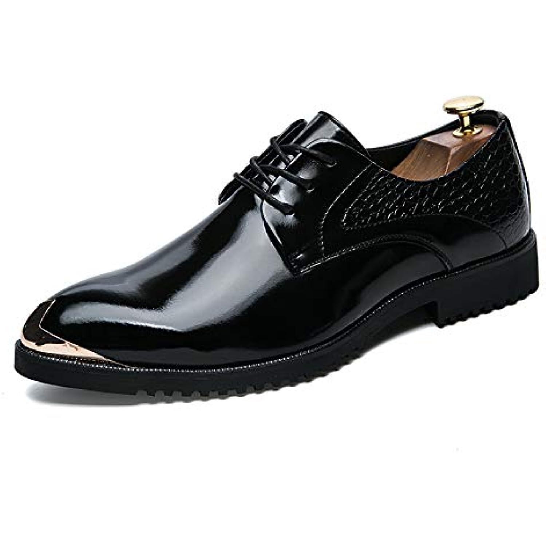 Xujw-Chaussure s, Chaussures Homme 2018 La personnalité Couleur des Hommes rétro Brosse Couleur personnalité Anti-Collision Orteil en métal... - B07H35PMGR - 9eb21f