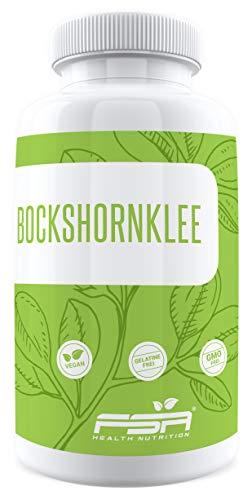 Bockshornklee Aktiviert 180 Kapseln, 500 mg pro Kapsel, Bockshornkleesamen (Fenugreek), Vegan – Made in Germany – FSA Nutrition