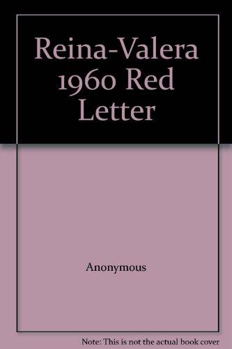Reina-Valera 1960 Red Letter