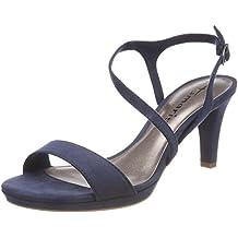 Tamaris Damen Sandalen Blau (Metallic)