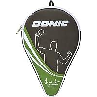 Donic-Schildkröt Funda para Raqueta de Tenis de Mesa Waldner, Compartimiento Extra de Almacenamientopara para 3 Pelotas, 818537