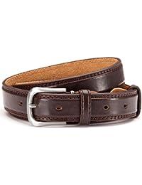 Eleganter Pu-Leder Gürtel, Jeans- Anzug Gürtel Herren 3 cm breit, hochwertige Bearbeitung