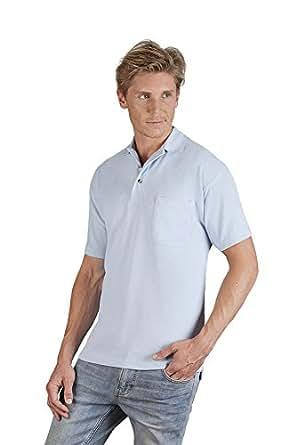 8b3814b3bb83 Heavy Poloshirt mit Brusttasche Herren  Amazon.de  Bekleidung