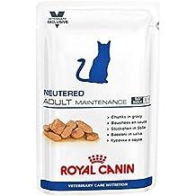Royal Canin Neutered Adult Maintenance, Comida de gato, 100 g, pack de 12