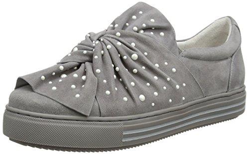 Cafènoir Ladies Kdd529 Pantofole Alte Grigio (grigio)