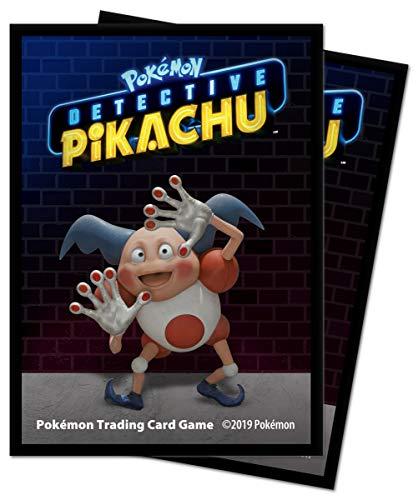 Pokemon Meisterdetektiv Pikachu - Pantimos / Mr. Mime - Protector - Sleeves / Hüllen (65 STK) (Ultra Glurak)