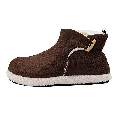 Kenroll Pantofole Invernali In Cotone Calde Scarpe - Stivali Uomo