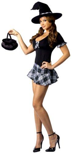 Schule Mädchen Hexe - Kostüm für Erwachsene (Schule Mädchen Kostüm Hexe)