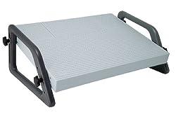 Wedo 2751 Fußstütze (Relax verstellbar DIN 4556) lichtgrau