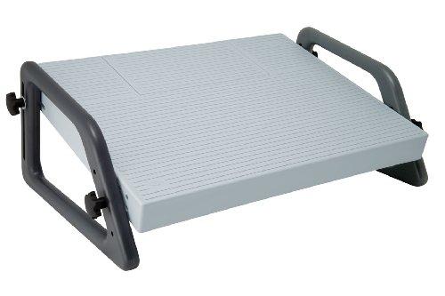 Möbel Büromöbel Express (Wedo 2751 Fußstütze (Relax verstellbar DIN 4556) lichtgrau)