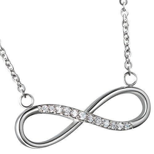 Oidea Muttertagsgeschenke Damen Halskette mit Anhänger, Edelstahl