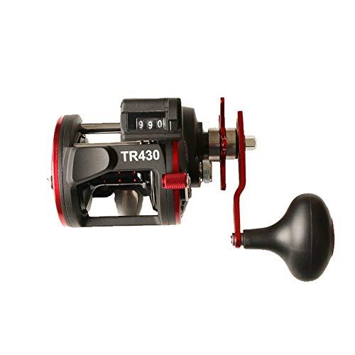 Trommel-Bandspulen-Fischen 4,1: 1 Berufsniveau-Wind-Bandspulen-Antriebsspulen-rundes Baitcasting-Fischen-Salzwasser-Rot