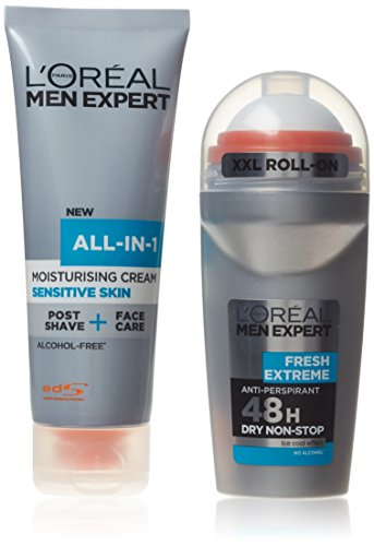loreal-men-expert-the-quick-groomer-confezione-regalo-75ml-all-in-one-sensitive-crema-idratante-50ml