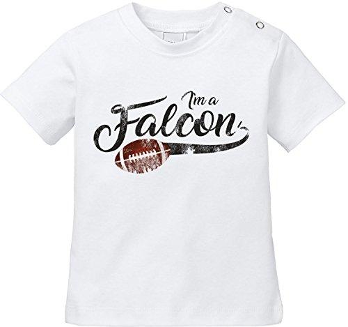 | American Football Bio Baumwolle Baby T-Shirt (Falcon Handschuhe Kind)