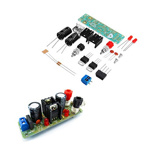 Características:  El uso de dos importados 7805 chips de regulador de tensión de tres terminales, el error de voltaje de salida es pequeño, generalmente en el intervalo de 4.95V-5.05V, la corriente de salida máxima es de 3A, el voltaje de entrada del...